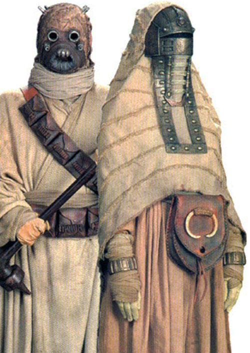 Tusken couple (Star Wars)