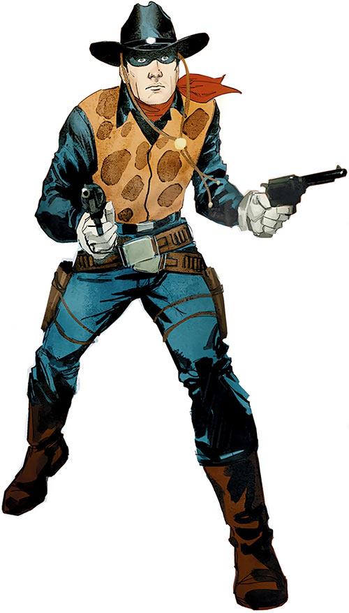 Two-Gun Kid (Marvel Comics) (Rod Reis USAVengers cover detail)