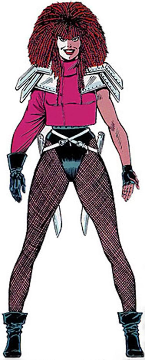 Typhoid (Daredevil character) (Marvel Comics by Nocenti) master edition handbook