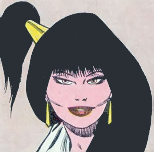 Typhoid (Daredevil character) (Marvel Comics by Nocenti) Mary with a funky hairdo