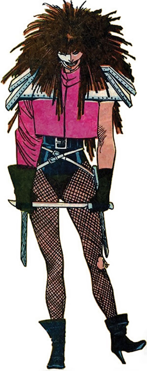 Typhoid (Daredevil character) (Marvel Comics by Nocenti)