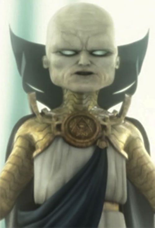 Uatu the Watcher (Marvel Comics) video game model
