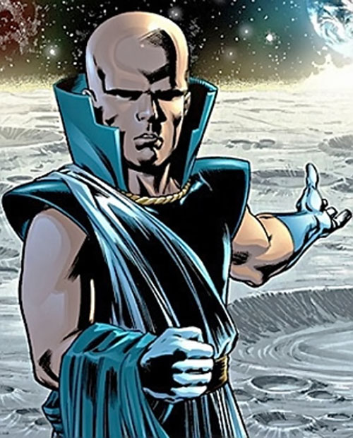 Uatu the Watcher (Marvel Comics) on the Moon