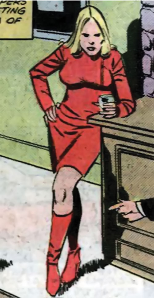 Ultima Wordman (Marvel Comics) (She-Hulk enemy) drinking in the background