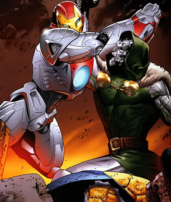 Ultimate Doctor Doom vs. Ultimate Iron Man