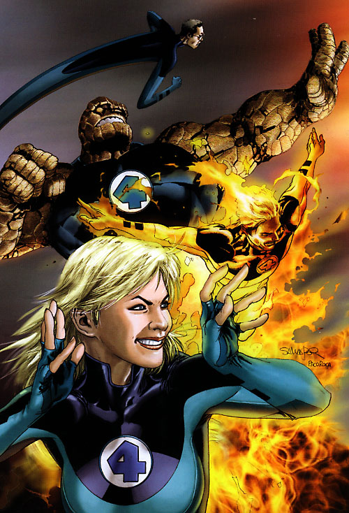 Ultimate Fantastic Four (Marvel Comics) by Salvador