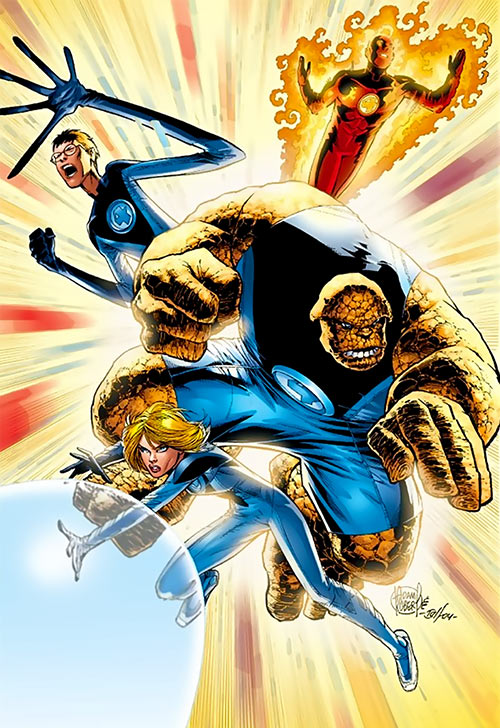 Ultimate Fantastic Four (Marvel Comics) by Adam Robert
