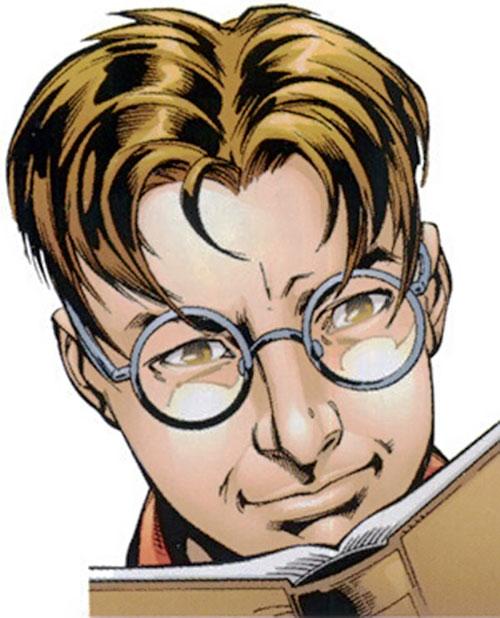 Ultimate Spider-Man (Peter Parker) unmasked face closeup