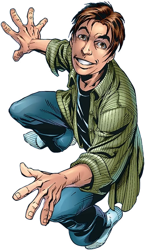 Ultimate Spider-Man (Peter Parker) in his civvies