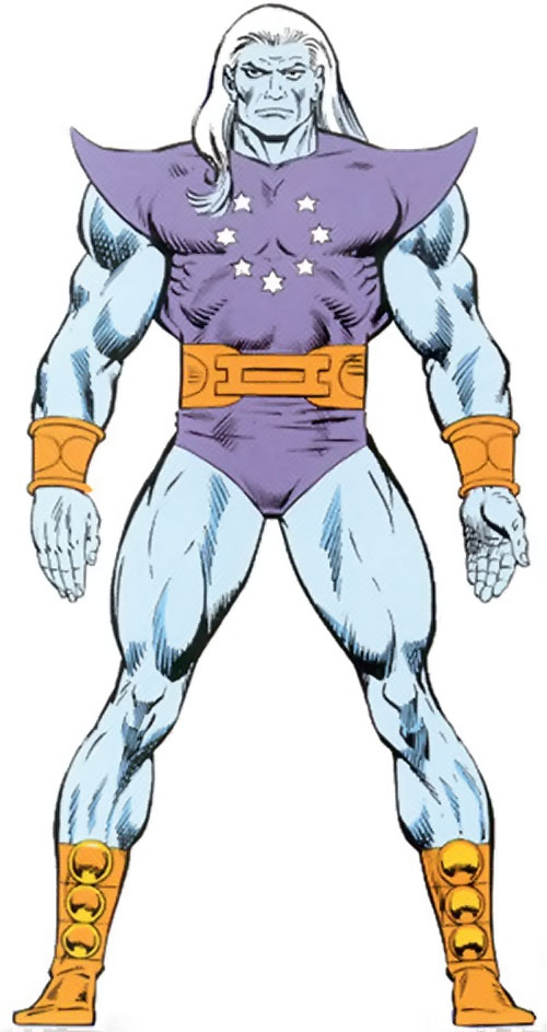 Ultimus (Marvel Comics) from the master edition handbook