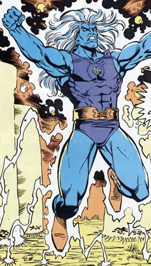 Ultimus (Marvel Comics) using Stonehenge