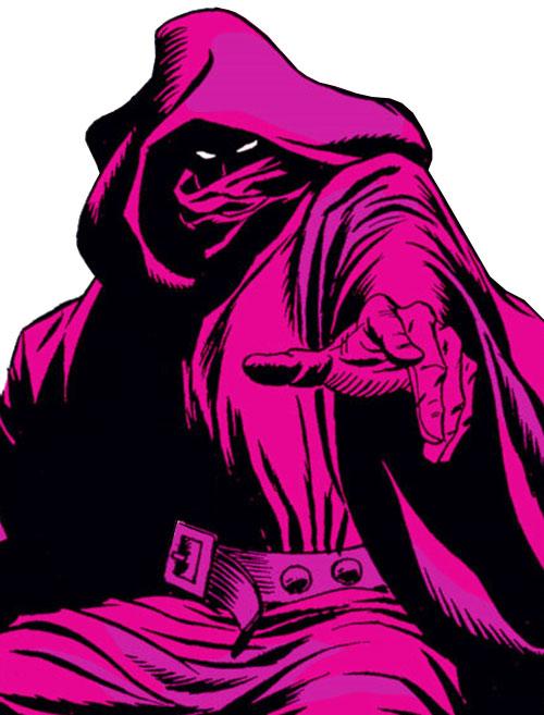 Ultron-5 (Avengers enemy) (Marvel Comics) as the Crimson Cowl