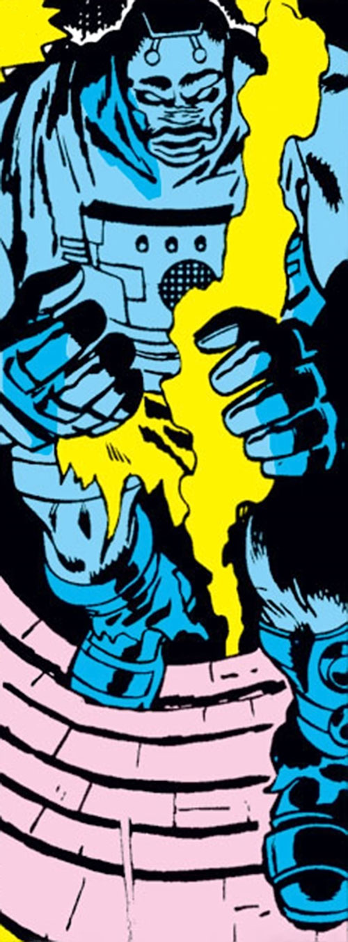 Android servant of Ultron-5 (Avengers enemy) (Marvel Comics)