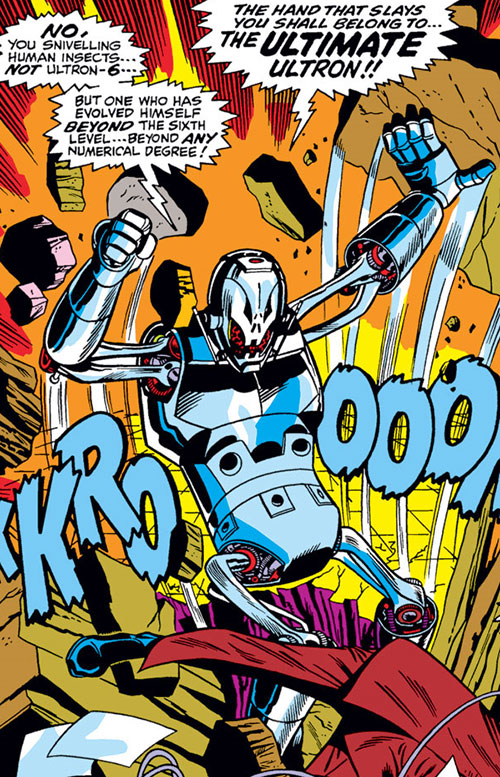 Ultimate Ultron (Avengers enemy) (Marvel Comics)
