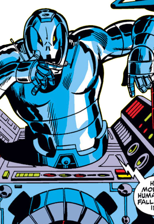Ultron-6 (Avengers enemy) (Marvel Comics)