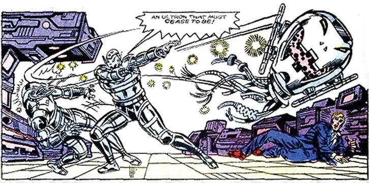 Bad Ultron vs. good Ultron