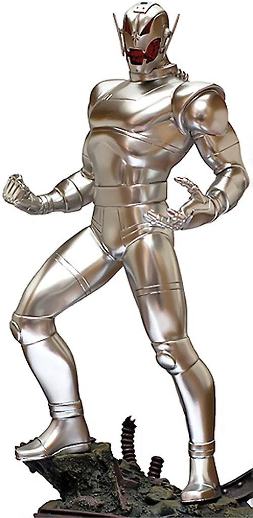 Ultron 8 through 12 (Avengers enemy) (Marvel Comics) statuette