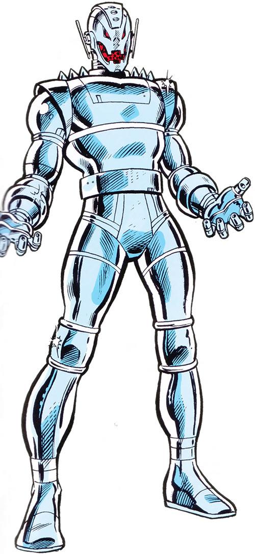 Ultron 8 through 12 (Avengers enemy) (Marvel Comics)