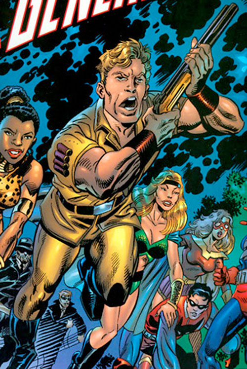 Ulysses Bloodstone as part of Marvel's Lost Generation