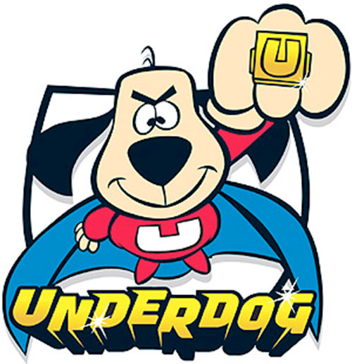 Underdog and his U ring