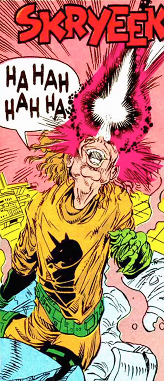 Unicorn II (Marvel Comics) firing his 3rd eye