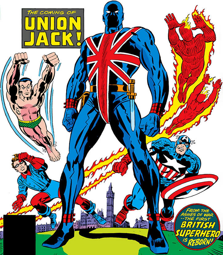Union Jack and the Invaders