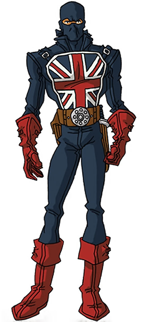 Union Jack of the Invaders (Lord Falsworth) (Marvel Comics) by RonnieThunderbolts 1/2