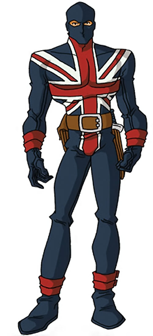Union Jack of the Invaders (Lord Falsworth) (Marvel Comics) by RonnieThunderbolts 2/2
