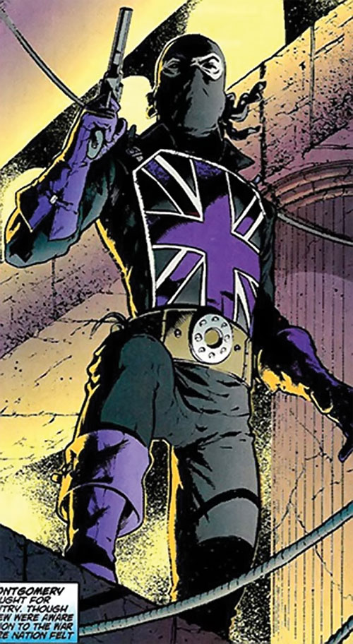 Union Jack of the Invaders (Lord Falsworth) (Marvel Comics) variant costume