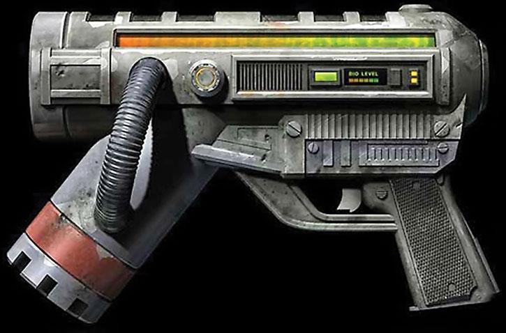 Unreal Tournament weapons - bio rifle