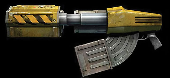 Unreal Tournament weapons - flak cannon