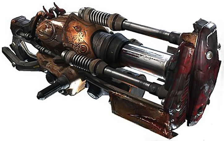 Unreal Tournament weapons - impact hammer