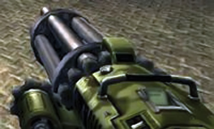 Unreal Tournament weapons - minigun