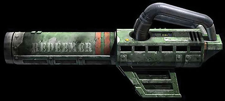 Unreal Tournament weapons - redeemer