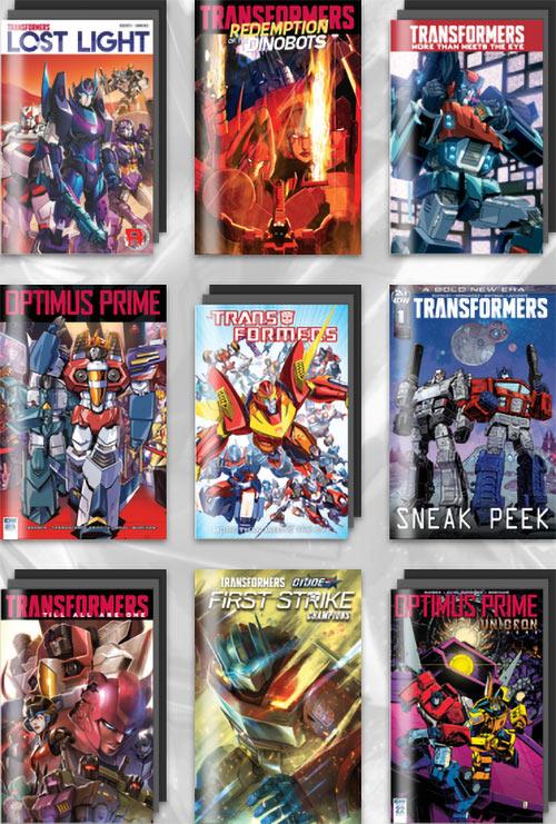 Humble Bundle IDW Transformers comics
