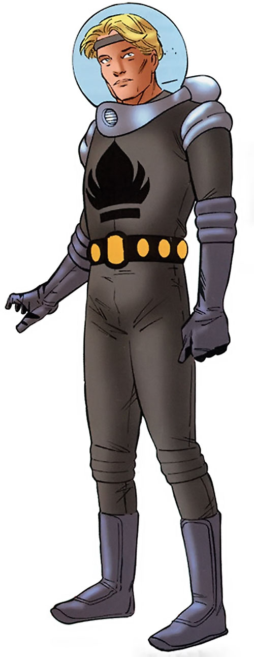 The Uranian of the Agents of Atlas (Marvel Comics)