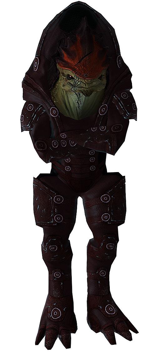 Urdnot Wrex (Mass Effect) high definition model