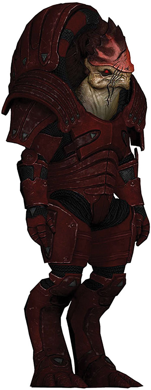 Urdnot Wrex (Mass Effect) character model