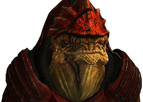 Urdnot Wrex (Mass Effect) portrait