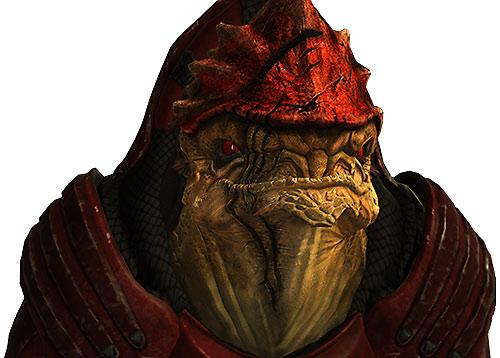 Urdnot Wrex (Mass Effect) portrait