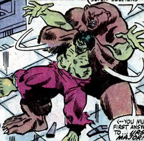 Ursa Major (Marvel Comics) (Soviet Super-Soldiers) vs. the Hulk