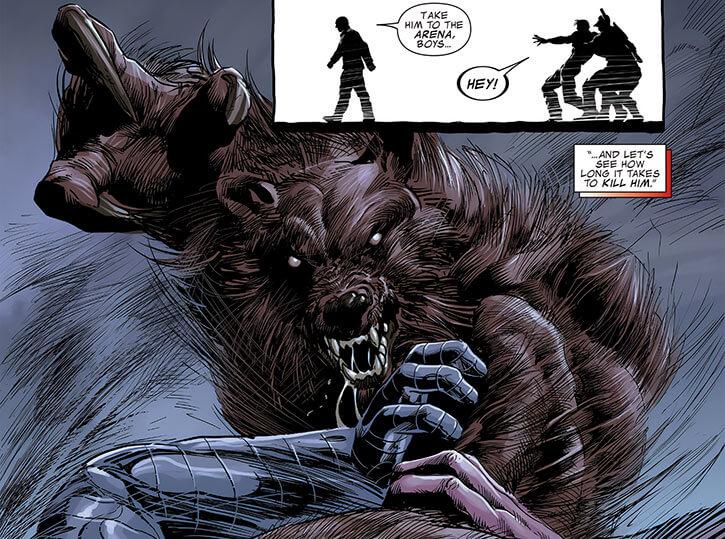 Ursa Major (Marvel Comics) (Russian superhero) shaggy monster