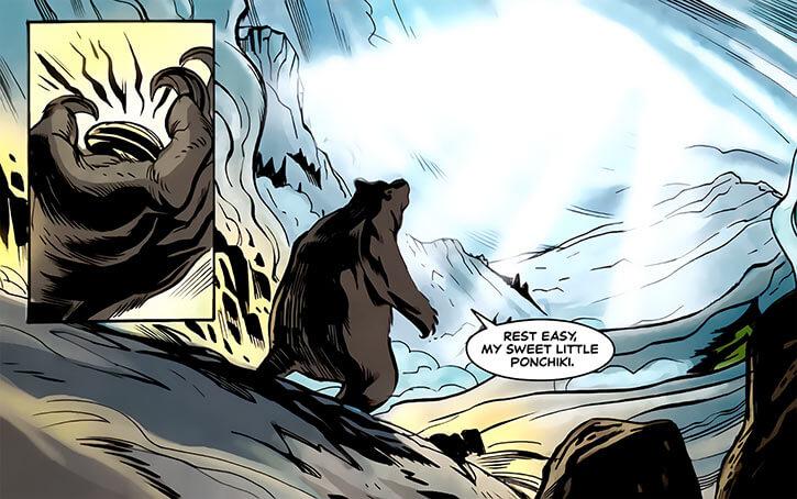 Ursa Major (Marvel Comics) (Russian superhero) death of darkstar