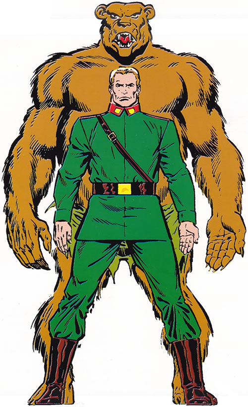 Ursa Major (Marvel Comics) (Russian superhero) master handbook