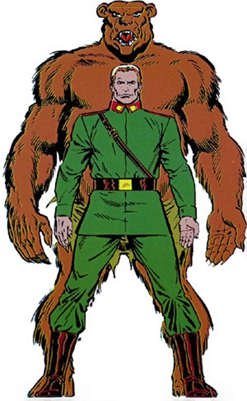 Ursa Major (Marvel Comics) (Soviet Super-Soldiers)