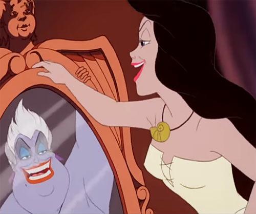Ursula the sea witch (Disney's little mermaid) - as Vanessa