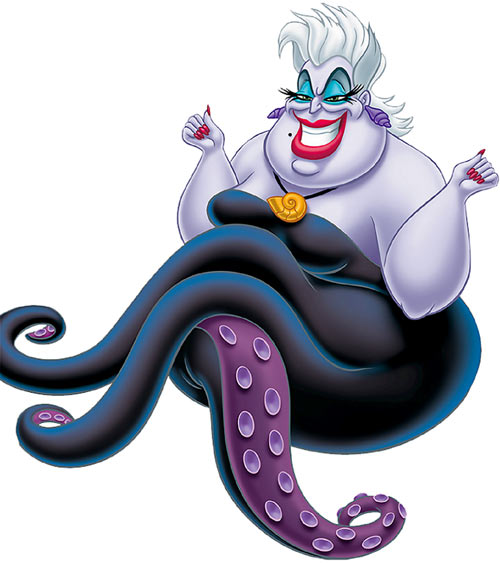 Ursula the sea witch (Disney's little mermaid)