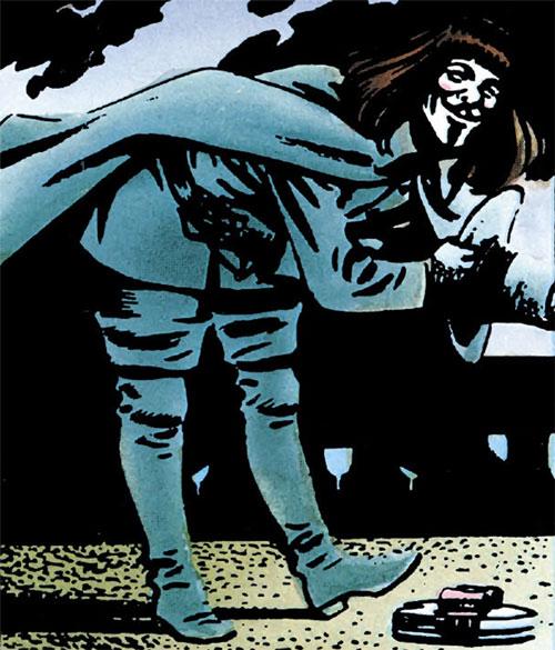 V (V for Vendetta comic) (Alan Moore) bowing