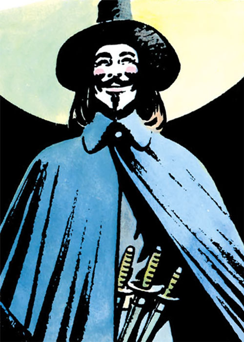 is a v hero in v for vendetta V for vendetta is a comic by alan moore and david lloyd starting in march, 1982, it originally ran in a british anthology comic called warrior, and later.