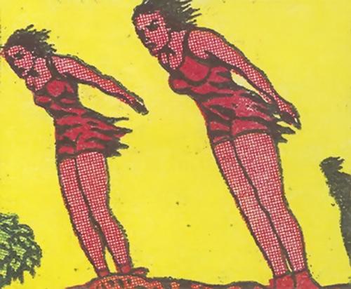 Vahines of Wildmoon (Fantomah enemy) (Jungle Comics)